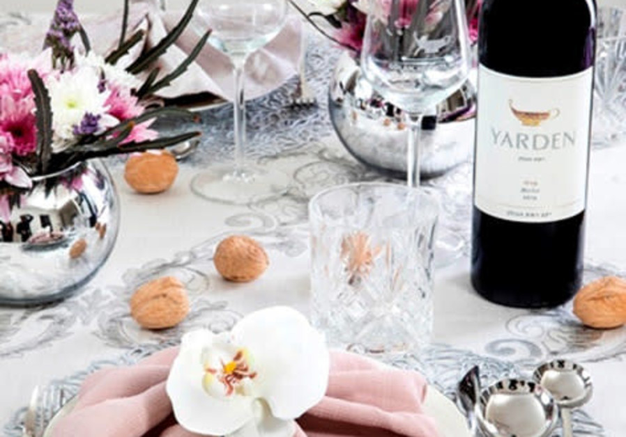 PUT A good vintage on your festival table – in this instance, a Yarden. (Photo credit: Golan Heights Winery)