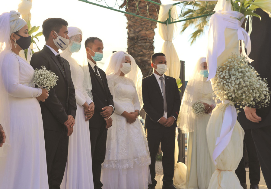 BNEI MENASHE brides and grooms. (Photo Credit: Laura Ben-David)