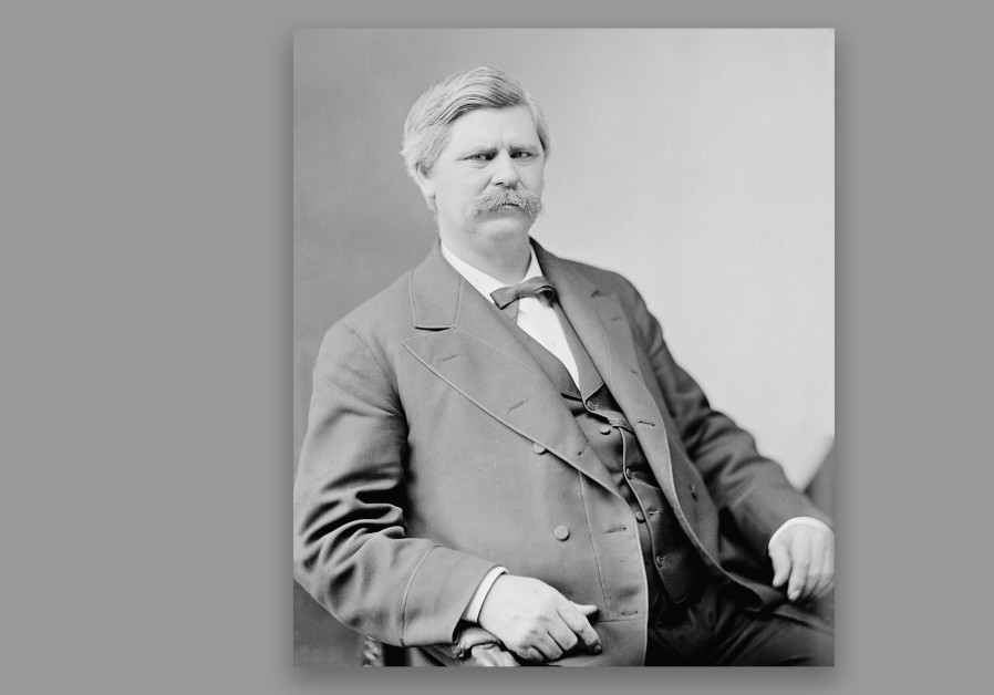 Zebulon Baird Vance served as governor and then a U.S. senator from North Carolina until his death in 1894. In addition to owning slaves and being an outspoken supporter of the Confederacy, he also traveled the country giving a speech praising Jews. (Credit: LIBRARY OF CONGRESS)