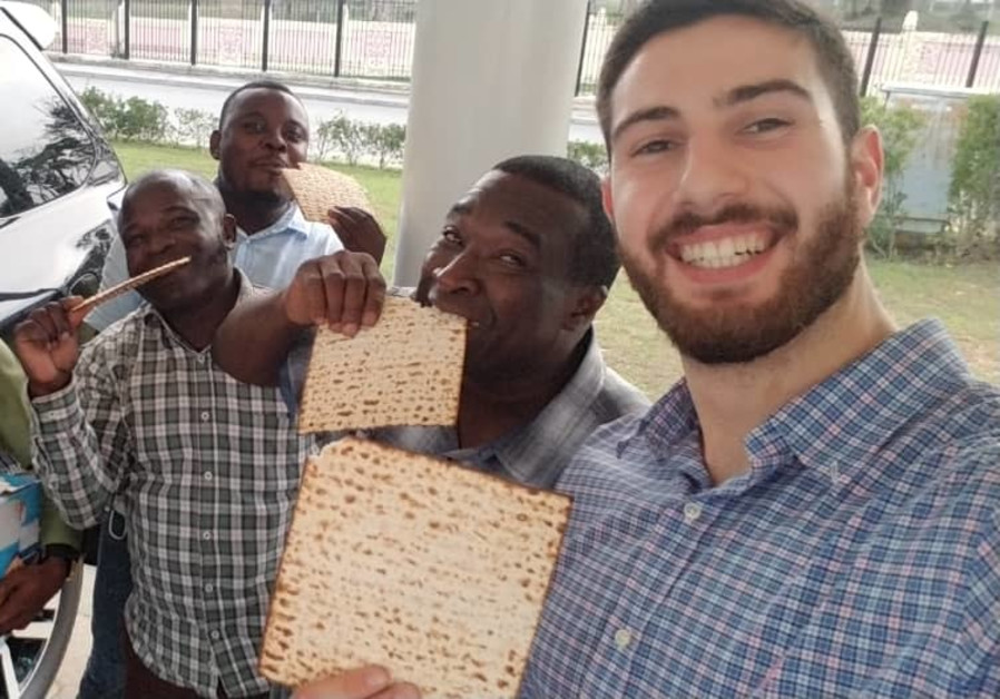 Passover in Central Africa, 2021 (Credit: Courtesy)