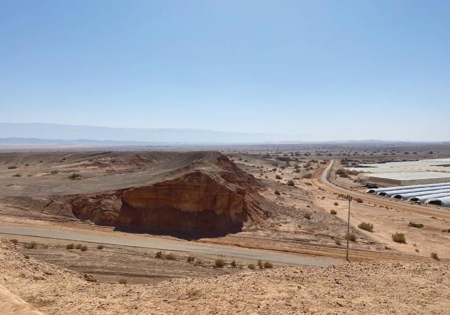 Jebel Hofriya Lookout (Photo Credit: MEITAL SHARABI)