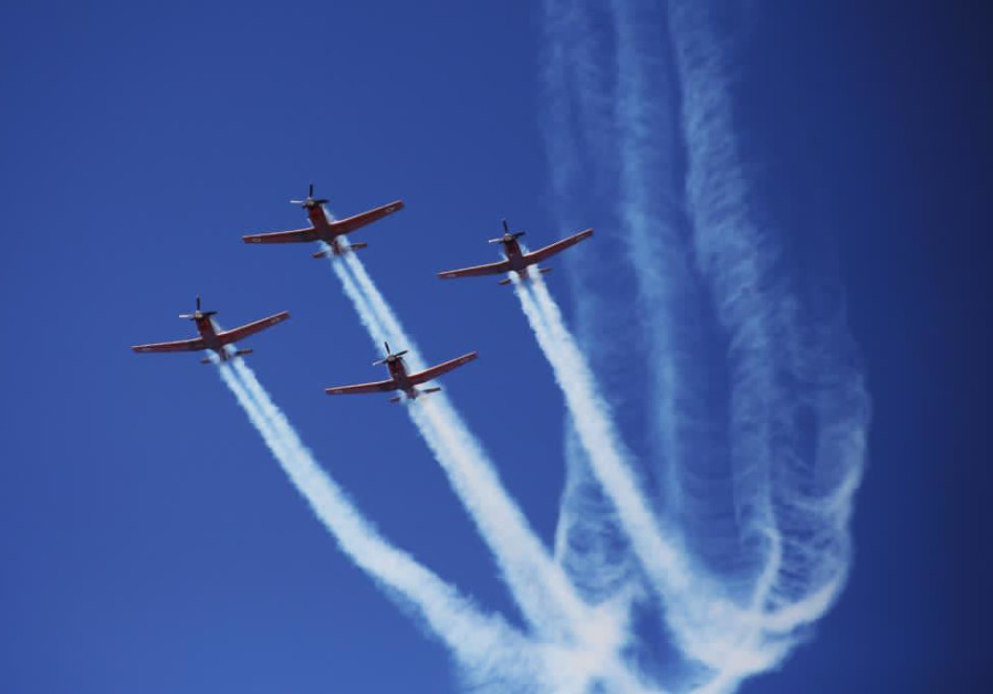 The aerobatic team will appear as part of the Independence Day flight. (Credit: IDF)