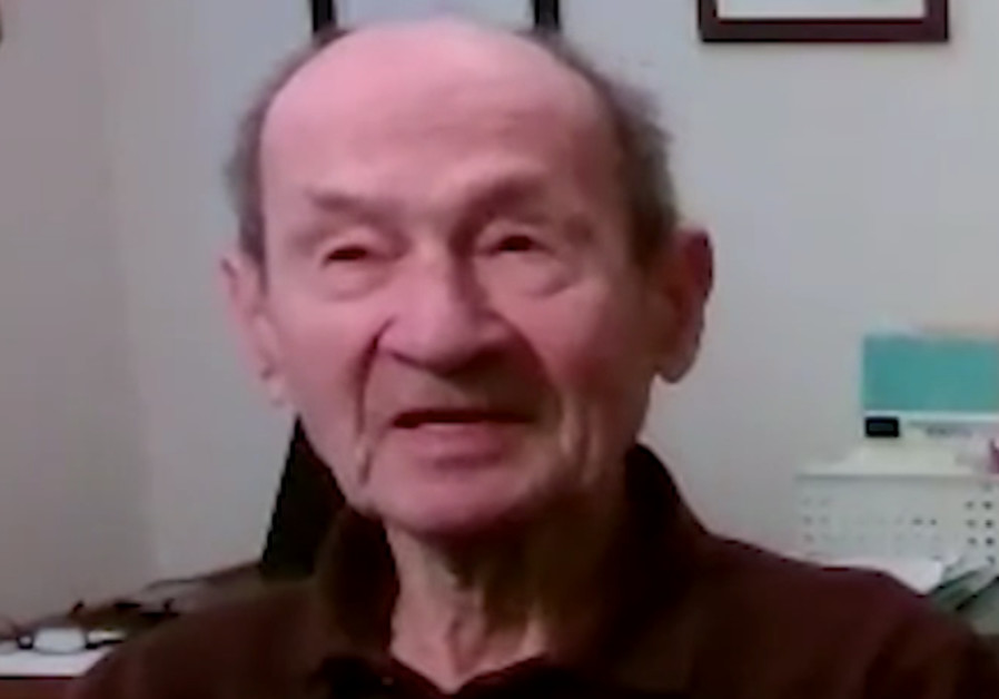 Professor Zvi Harel, member of the Harel Brigade. (March of the Living)