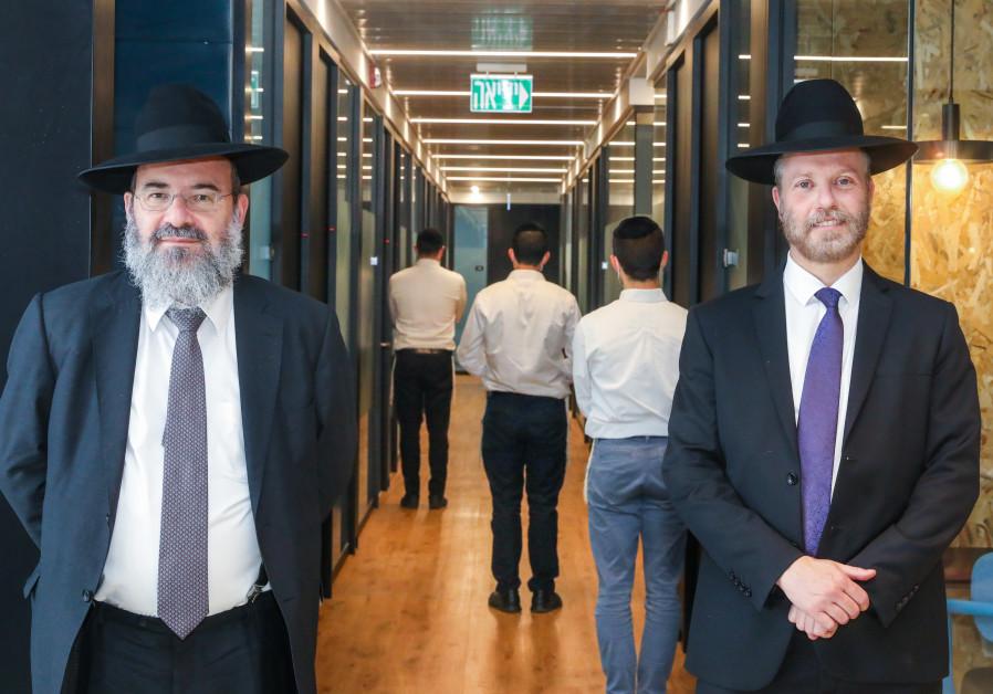 (From left) PARDES HEAD Rabbi Daniel Rabin and founder Rabbi Dr. Moshe Kahan. (Photo Credit: Marc Israel Sellem)