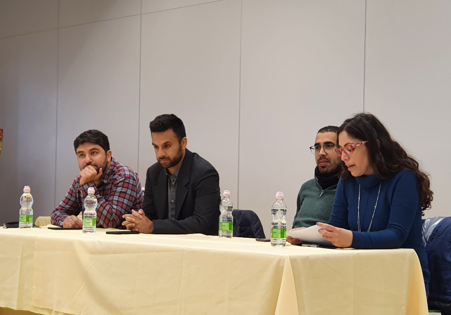 From left to right - Daniel Salami, Yoseph Haddad, Ibrahim Abu Ahmad and Sarit Zehavi (Credit: Tobias Siegal)