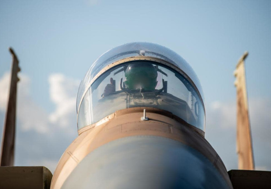 Aircraft used during the joint Israeli-Greek military operation. (Credit: IDF)