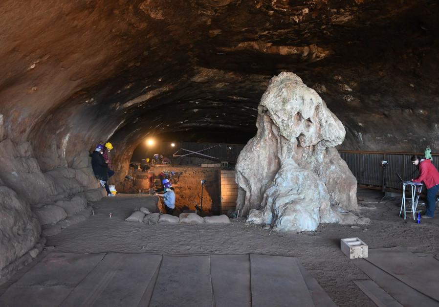 Wonderwerk Cave in South Africa. (Credit of Michael Chazan)
