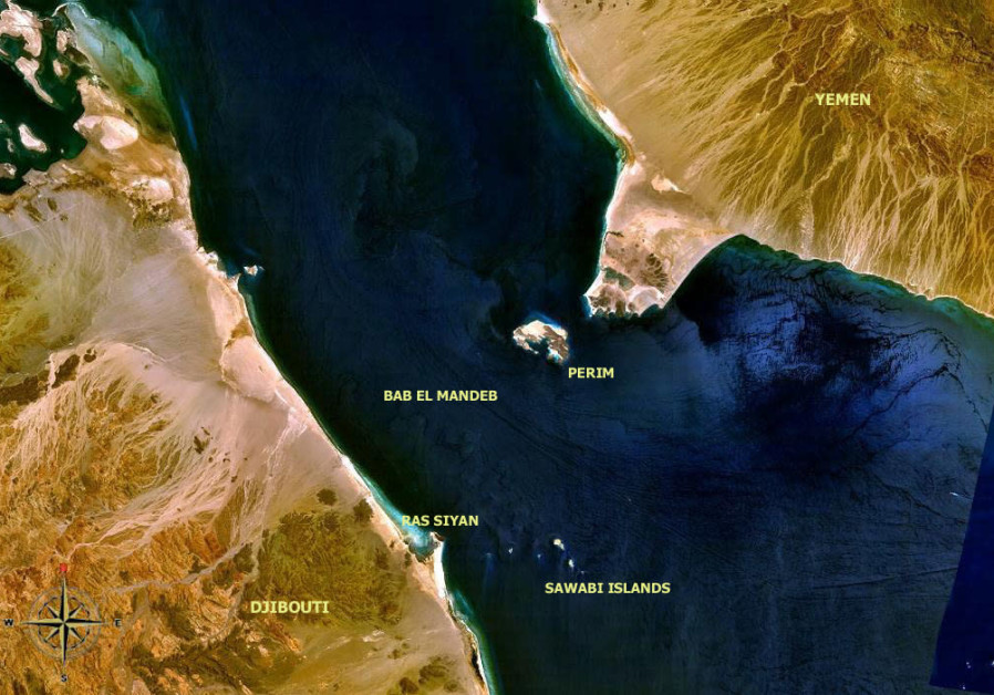 BAB-EL MANDEB, a key maritime chokepoint between the Arabian peninsula and African continent, was a focal point of Somali piracy. (Photo credit: Wikimedia Commons)