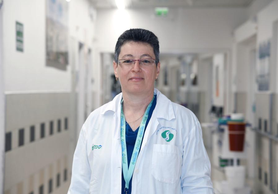 FRIEDA EZRIELEV, a spiritual caregiver at Soroka: 'Something magical happens when I'm with patients. (Dina Frenkel)