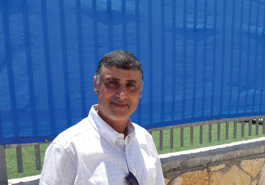 Yossi Harush of Bayit Yehudi, deputy mayor of Lod. (Credit: Herb Keinon)