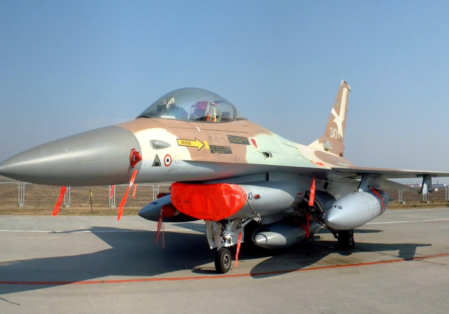 F-16A NETZ 243, flown by Col. Ilan Ramon in the operation. (Credit: Wikimedia Commons)
