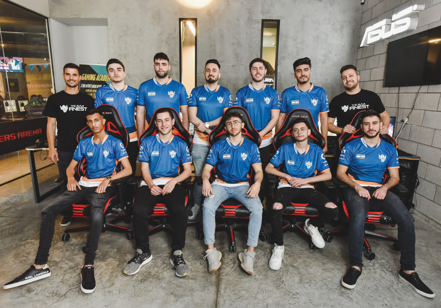 THE PLAYERS of Team Finest are taking Israeli esports to the next level. (OR GLICKMAN)
