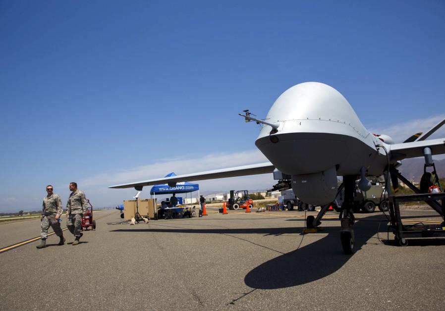 American drone in Afghanistan (Credit: PATRICK T. FALLON/REUTERS)