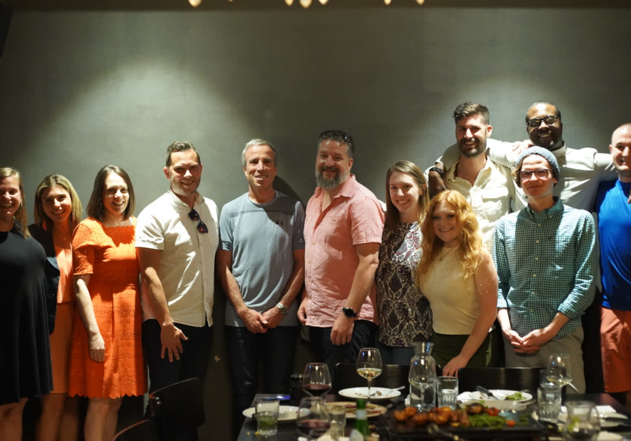A group of twelve Christians visit Israel on trip with 'Passages' (Credit: Cade Chudy)