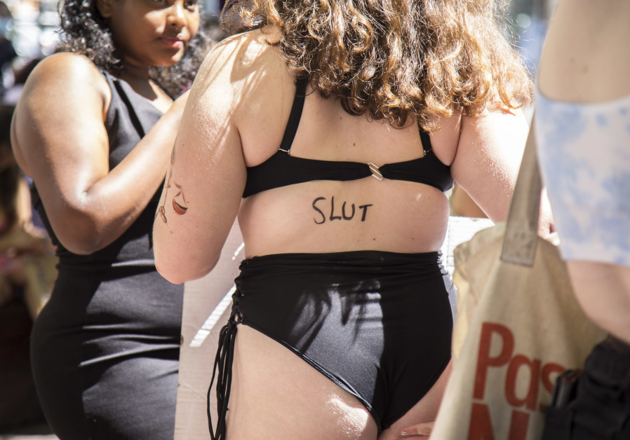 Jerusalem SlutWalk, June 18, 2020 (Ruchama Ehrenhalt).
