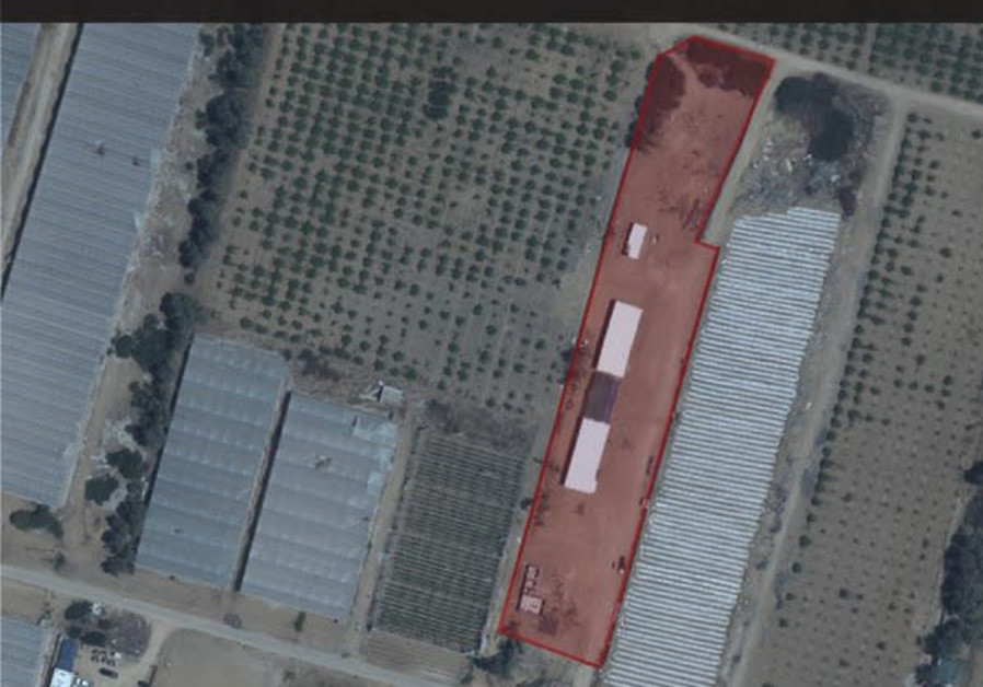 A Hamas weapons manufacturing facility in Gaza which was damaged by IDF airstrikes, July 1, 2021. (Credit: IDF SPOKESPERSON'S UNIT)