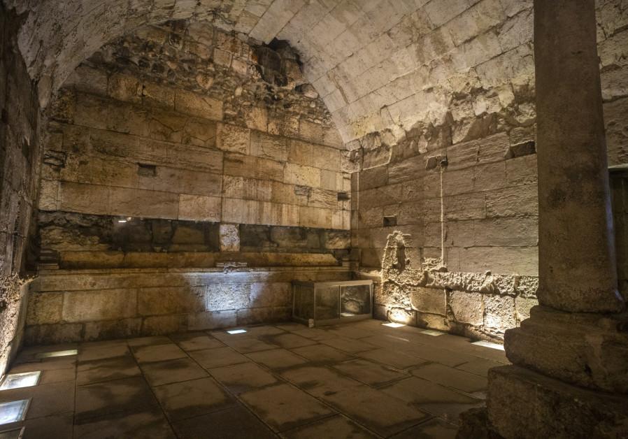 最近発掘された壮大な2000年された建物の遺跡が一般に公開される予定です。 (クレジット:YANIV BERMAN / ISRAELI ANTIQUITIES AUTHORITY)