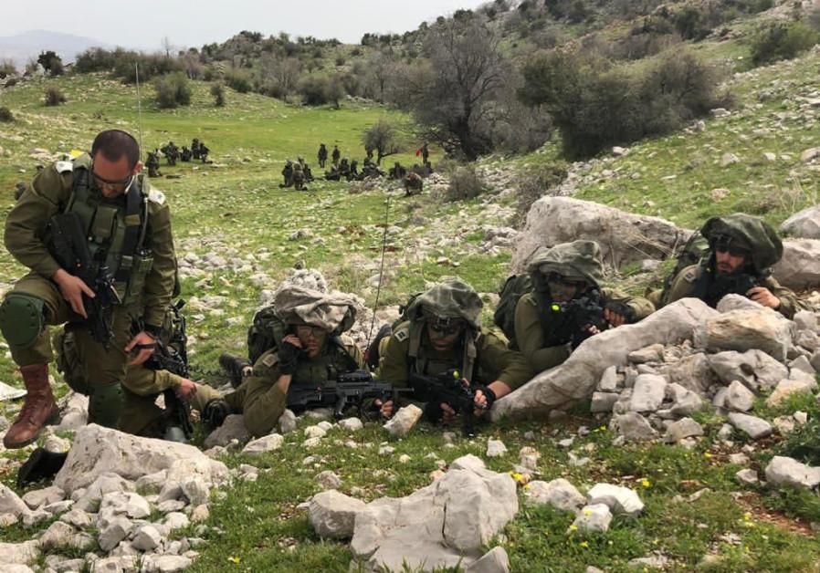 Des soldats de Tsahal s'entraînent dans le nord d'Israël en vue d'éventuelles guerres futures avec le Hezbollah au Liban. (Crédit: UNITÉ DU PORTE-PAROLE DE Tsahal)