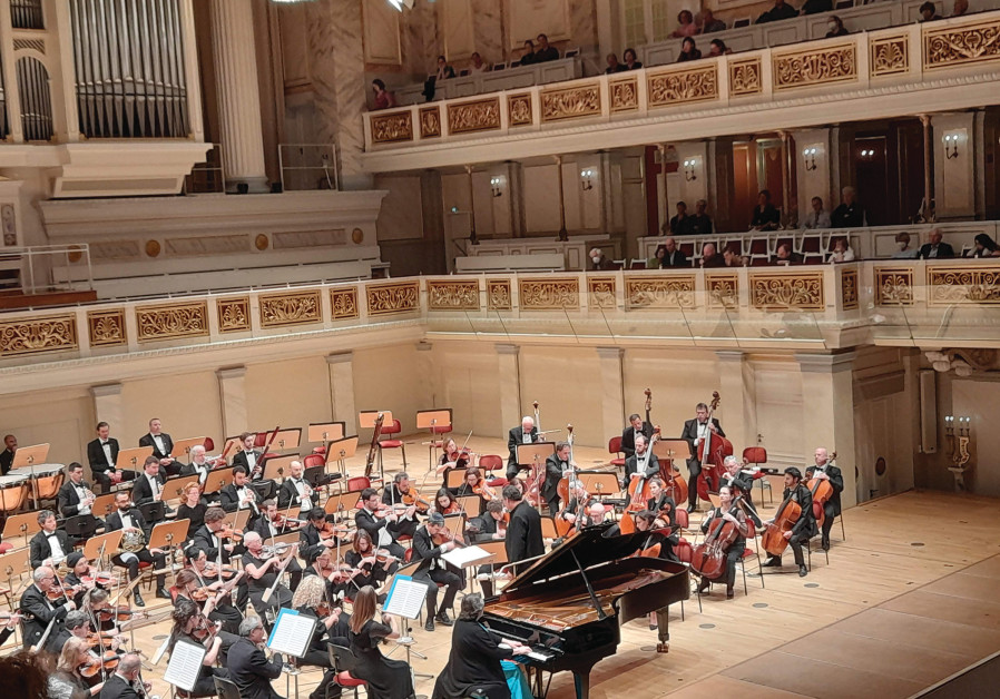 ANOTHER JSO performance venue? The palatial 200-year-old Konzerthaus Berlin. (Credit: BARRY DAVIS)