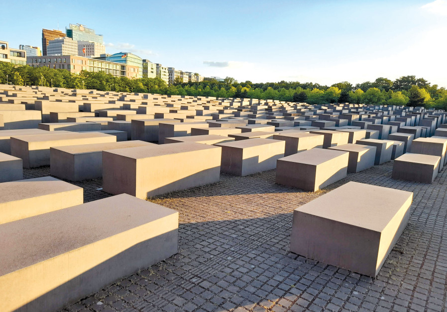 THE MASSIVE cemetery-like Holocaust Memorial in Berlin. (Credit: BARRY DAVIS)