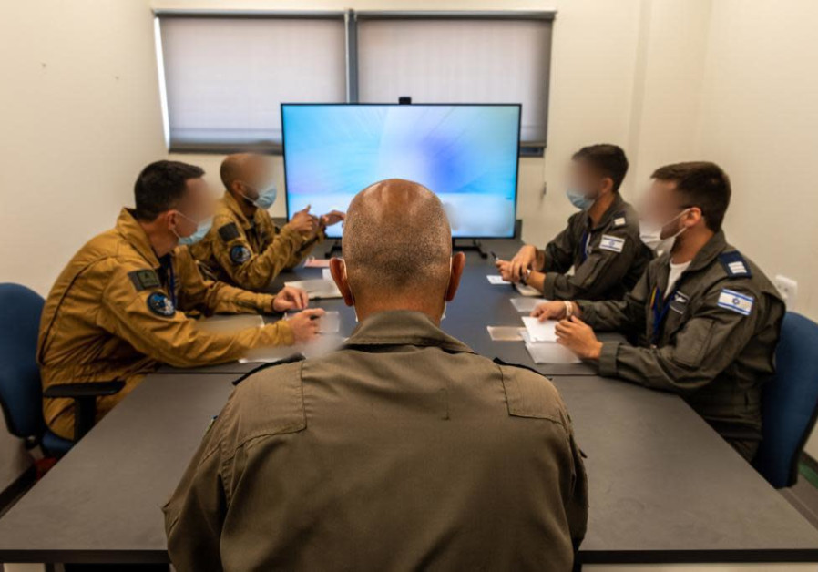IAF participating in the international drone drill (Credit: IDF Spokesman's Unit)