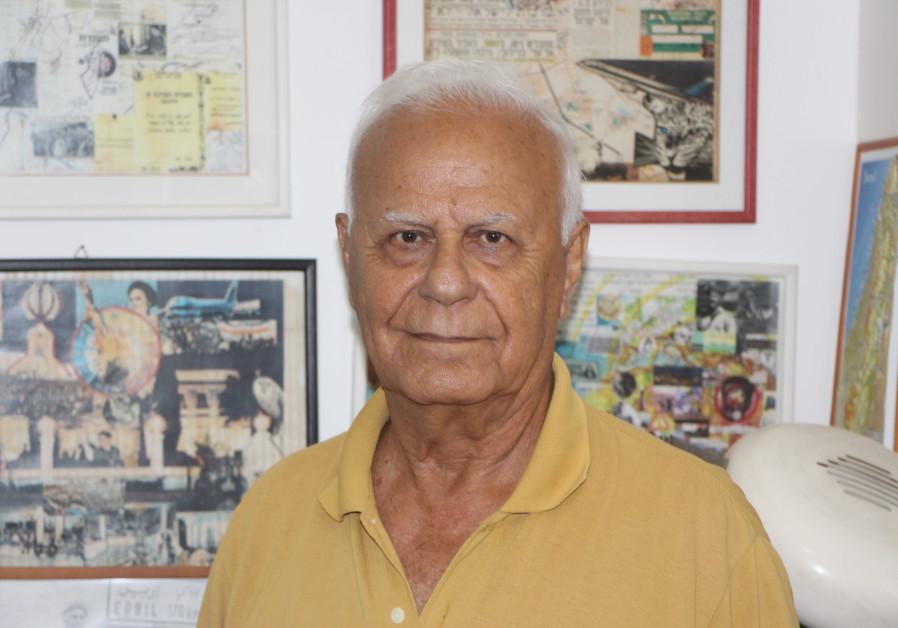 ELIEZER 'GEIZI' TSAFRIR joined the fledgling Mossad in 1962. (Credit: JONATHAN SPYER)