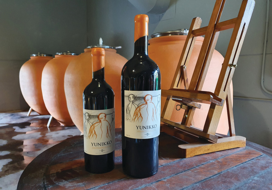 THE YUNIKKO, one of their flagship wines, was fermented and aged in tinajas