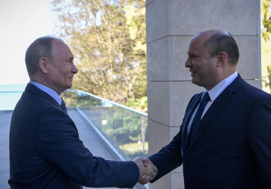How PM Bennett spent Shabbat in Sochi