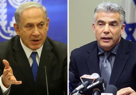 Netanyahu and Lapid