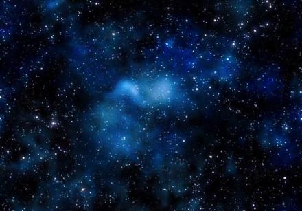 Deep space bright nebula