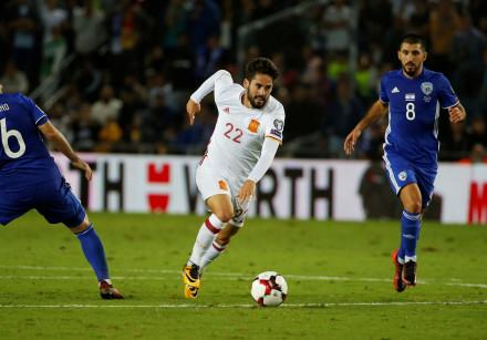 Soccer Football - 2018 World Cup Qualifications - Europe - Israel vs Spain - Teddy Stadium