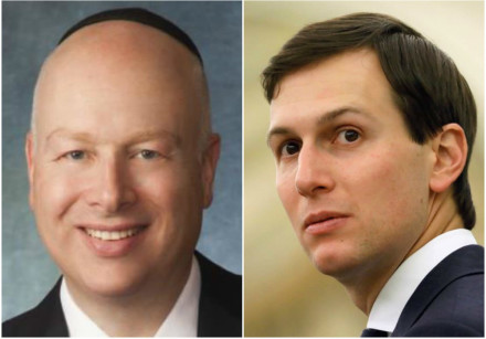 Jason Greenblatt and Jared Kushner