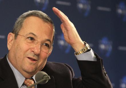 Former prime minister of Israel Ehud Barak