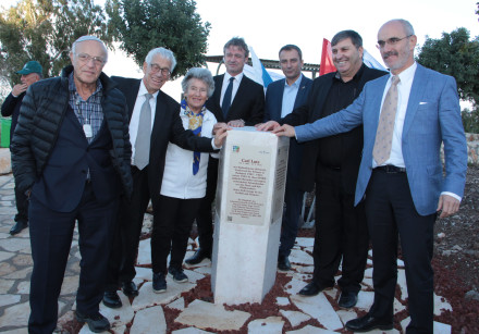 Unveiling the Carl Lutz Scenic Lookout in Swiss Forest by Lake Kinneret