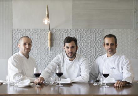 Mariposa chefs Yomi Levy, Haviv Moshe and Meir Alaluf