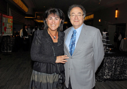 Billionaire Barry Sherman and wife Honey at a United Jewish Appeal annual event