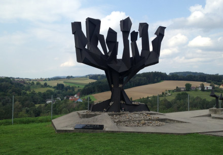 Israel's memorial at the Mauthausen concentration camp in Austria