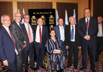 Vice President of Argentina Marta Gabriela Michetti (center-right) with KKL-JNF Vice President Herna
