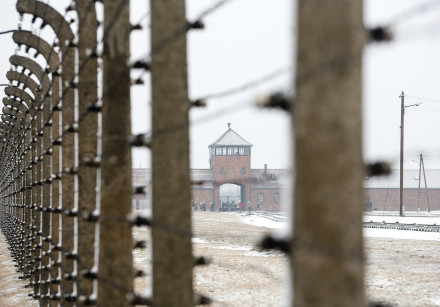 PHOTOGRAPH OF Auschwitz-Birkenau taken in February 2017.