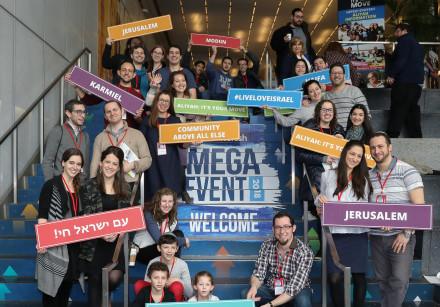 Nefesh B'Nefesh hosts its annual Mega Aliyah Fair in New York