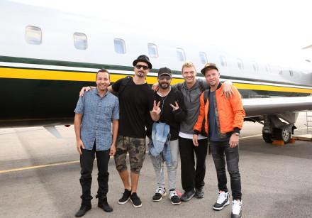 The Backstreet Boys in Israel