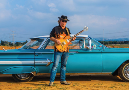 Blues musician Andy Watts