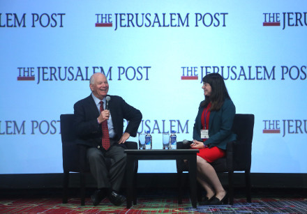 Ben Cardin, United States Senator (D) from Maryland, interviewed by The Jerusalem Post's Lahav Harko