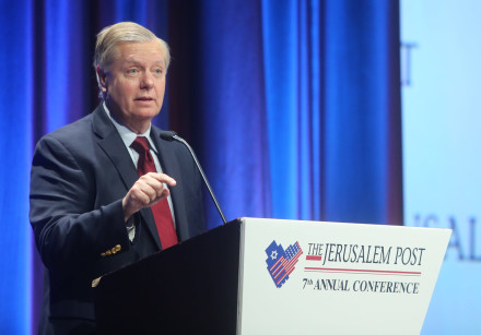 Lindsey Graham, United States Senator (R) from South Carolinaat the 7th Annual JPost Conference