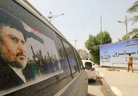 MOQTADA AL-SADR has won the largest number of seats in Iraq's parliament.