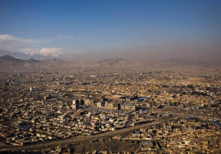 A general view of Kabul January 31, 2010.