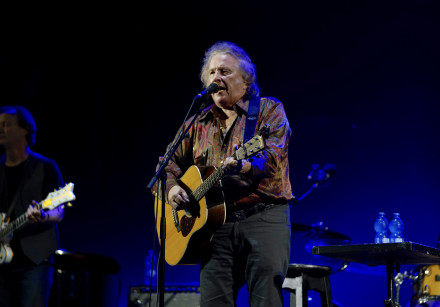 Don McLean performs live at the Ra'anana Ampiteater, June 16, 2018.