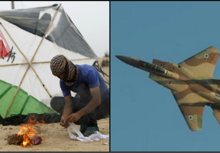 In the Gaza arena a new kite-strike equation is being put into practice
