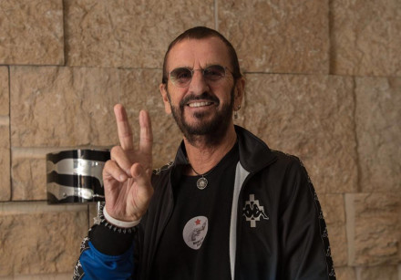 Ringo Starr arrives in Israel for a pair of concerts in Jerusalem and Tel Aviv