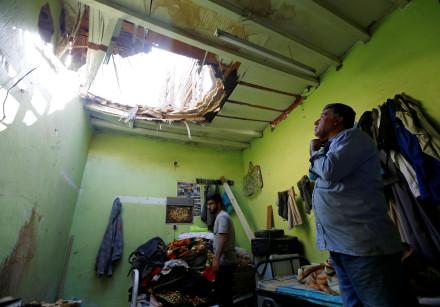Debris from ballistic missiles fired by Yemen's Houthi militia fell on Riyadh